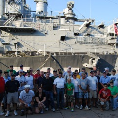 "USS The Sullivans DD-537 ""Field Days"" 8/24-26/2012"